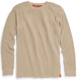 Ems Men's Rowan Waffle Crew Long-Sleeve Shirt
