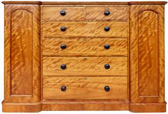 One Kings Lane Vintage 19th-C. Tall Maple Biedermeier Dresser