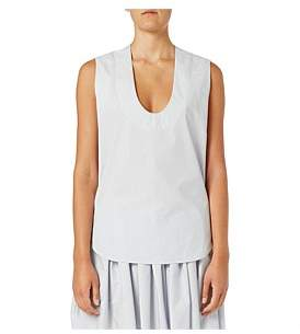 Bassike Cotton Scoop Neck Tank