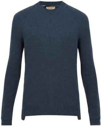 Burberry Bayliss waffle-knit cashmere sweater