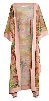 Chiara Boni Women's Candela Floral Coverup Kimono