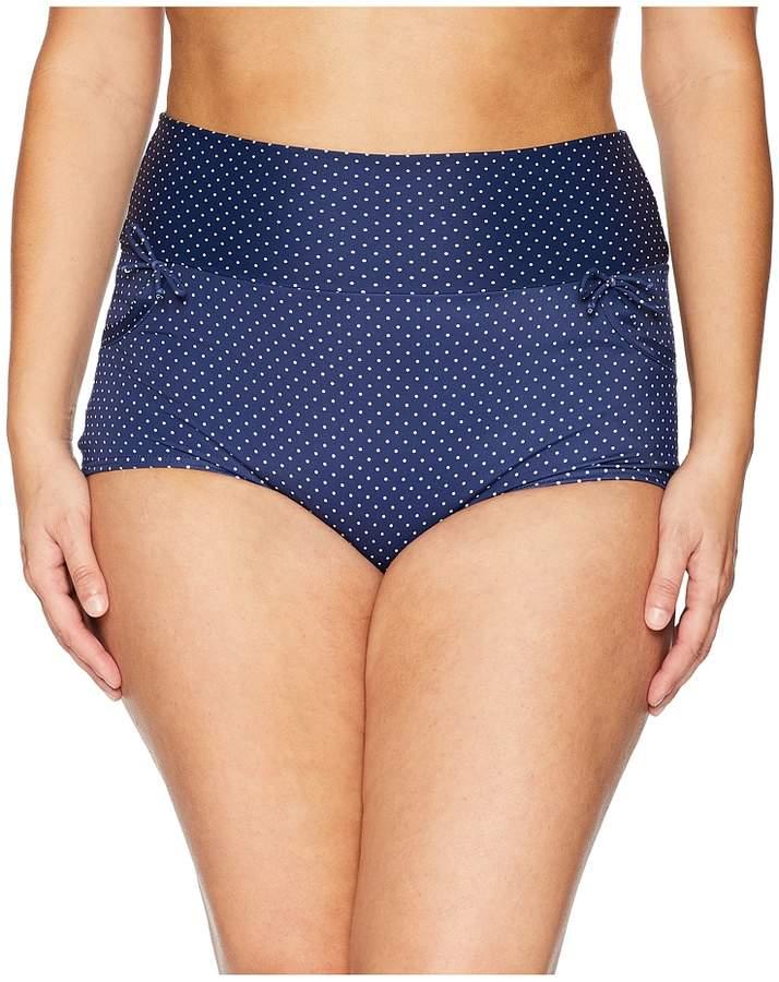 Plus Size Gilda High-Waist Swim Bottoms Women's Swimwear