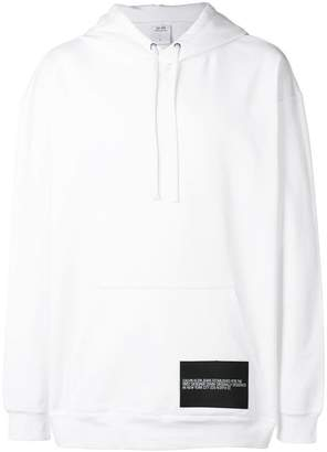 Calvin Klein Jeans modernist graphic hoodie