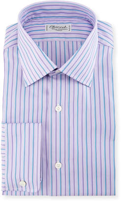 Charvet Alt-Striped Dress Shirt