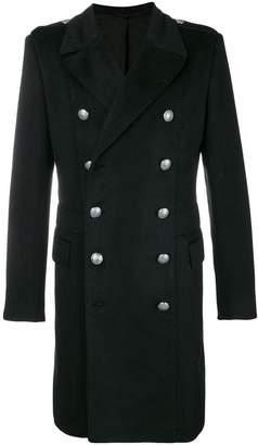 Balmain double-breasted coat