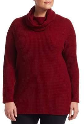 Marina Rinaldi Marina Rinaldi, Plus Size Arcadia Cashmere Convertible Sweater