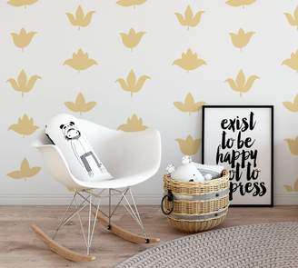 Pottery Barn Flower Buds Wall Decal