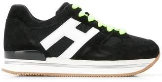 Hogan platform logo sneakers