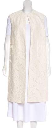 Pas De Calais Textured Knee-Length Vest