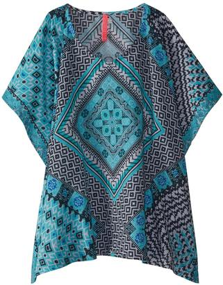 Seafolly Girls' Aztec Tapestry Kaftan 8158913 $58 thestylecure.com