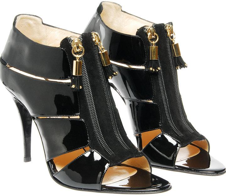 Bionda Castana 'Elise' zip front sandal