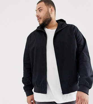 French Connection PLUS Hooded Harrington Jacket