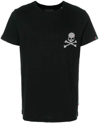 Philipp Plein skull detail T-shirt
