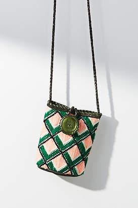 En Shalla Criss-Cross Bucket Bag