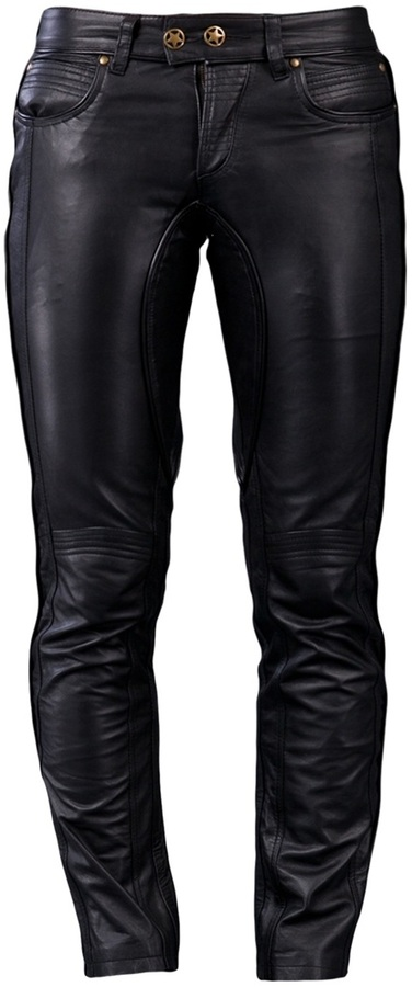 Built For Man Leather trouser