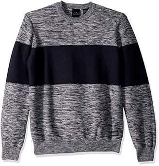 Armani Exchange A X Men's Reverse Stitch Stripe Pullover Sweater