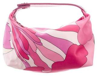 Emilio Pucci Leather-Trimmed Cosmetic Bag