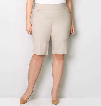 Avenue Super Stretch Pull-On Bermuda Short