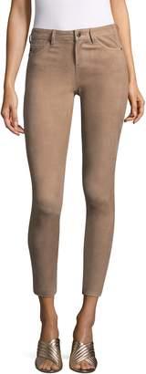 AG Adriano Goldschmied Women's Suede Skinny Jeans