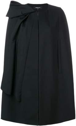 Paule Ka pleated shoulder cape