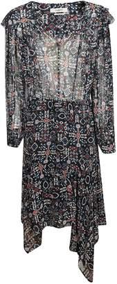Etoile Isabel Marant Aztec Print Midi Dress
