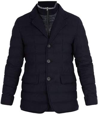 Herno Wool-blend quilted jacket