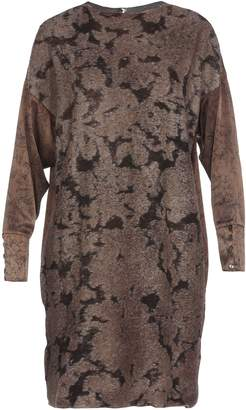 Avant Toi Wool Cashmere And Silk Dress