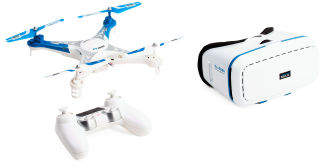 Drone With Vr And Remote Control
