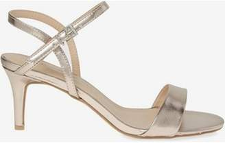 Dorothy Perkins Womens Gold 'Bubble' Heeled Sandals