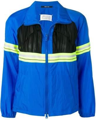 Maison Margiela reflective tape jacket