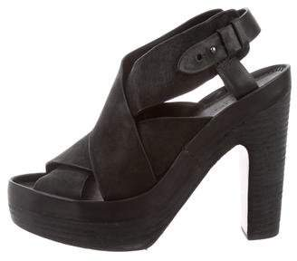 Rag & Bone Cross Over Ankle Strap Sandals