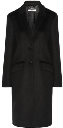 Givenchy - Coat In Black Cashmere And Wool-blend - FR34 $4,550 thestylecure.com