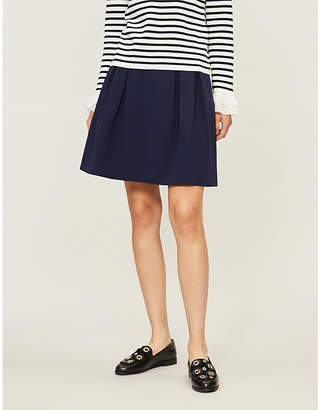 Claudie Pierlot Selenella flared crepe skirt
