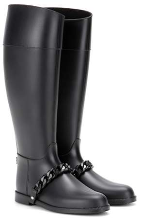 Givenchy Eva Chain rubber boots