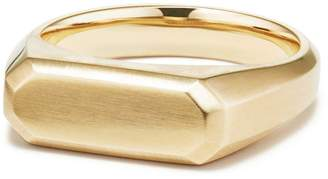 David Yurman Streamline Signet Ring in 18K Gold
