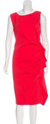 Emilio Pucci Virgin Wool Midi Dress