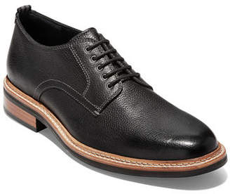 Cole Haan Men's Frankland Leather Derby Shoes with Contrast Stitching