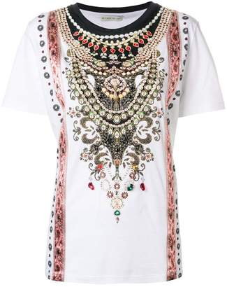 Etro embellished design T-shirt