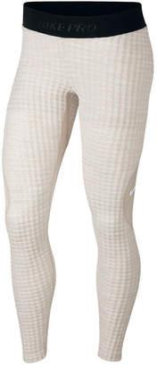 Nike Pro Hyperwarm Fleece-Lined Leggings