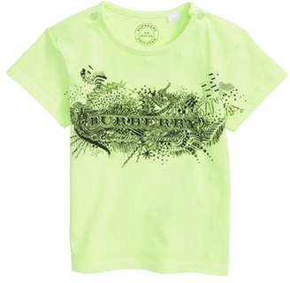 Burberry Mini Rydon Print Cotton T-Shirt