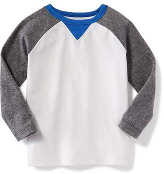 Old Navy Color-Blocked Raglan Tee for Toddler Boys