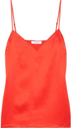 Equipment Layla Silk-satin Camisole - Red