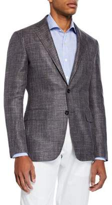 Canali Men's Custom Knit Sport Jacket