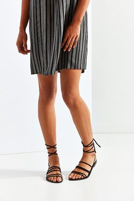 Urban Outfitters Strappy Suede Sandal $44 thestylecure.com