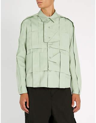 Craig Green Folded regular-fit cotton shirt