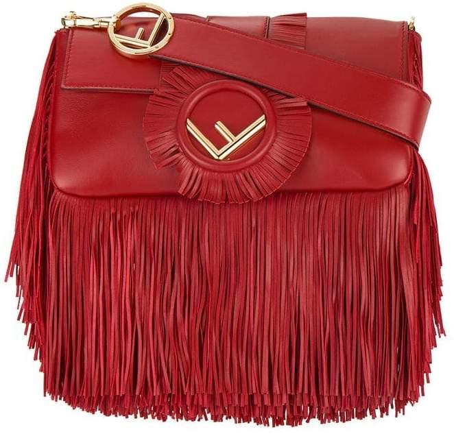 Fendi Baguette fringed shoulder bag