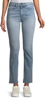Rag & Bone High-Rise Slim Cigarette Jeans