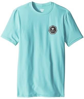 VISSLA Kids Everyday Short Sleeve Surf Tee Boy's T Shirt