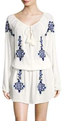 OndadeMar Tassel Blouson Dress