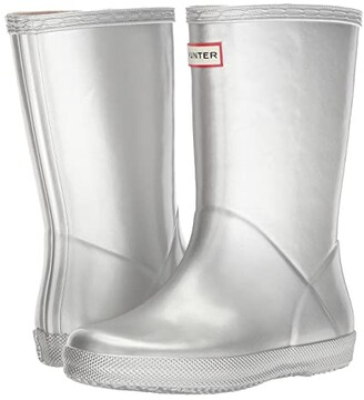 Hunter First Classic Metal Rain Boot (Toddler/Little Kid)
